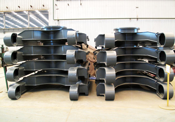 Excavator Steel Fabrication Parts (Undercarriage Frames) Manufacturing in China