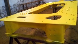 Excavator Parts (Frames) Manufactured in China