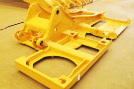 Excavator Turntable Manufactured in Dalian, China
