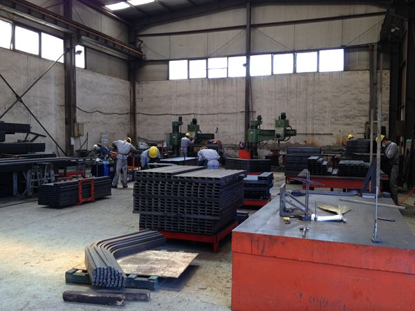 Forklift Steel Fabrication Parts Manufacturer in China (Dalian)