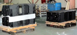 Forklift Steel Fabrication Parts in Dalian, China
