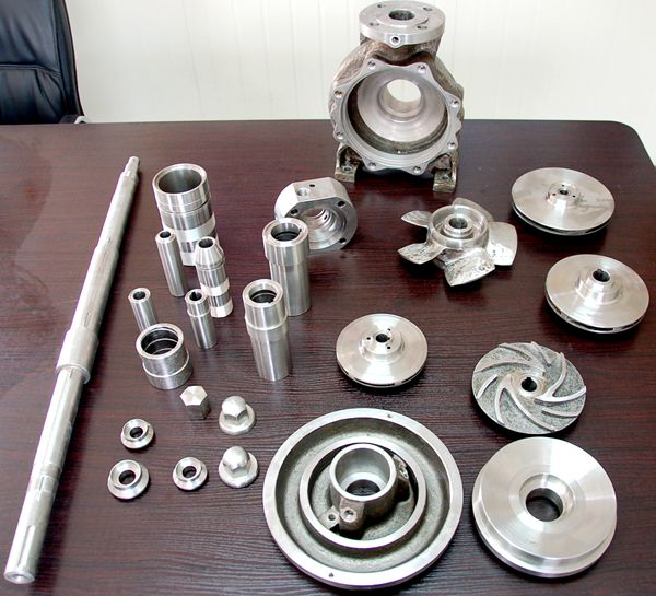 Pump Parts ( Cast & Machining)