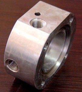 Machined Pump Parts in China