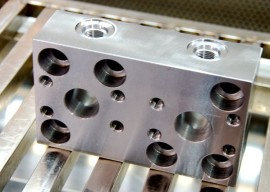 Machined Blocks for Wheel Loader's Hydraulic System